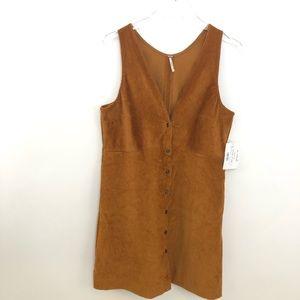 7dc6088d3f9d Free People Dresses - Free People Corduroy Mini Dress Size Medium